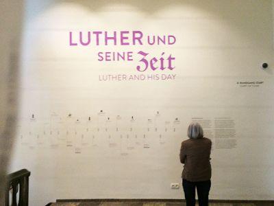 Besuch der Dauerausstellung im <br>Lutherhaus in Eisenach