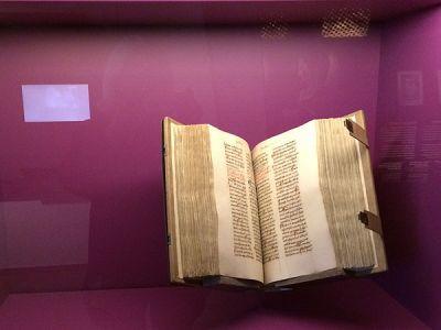Handgeschriebene Bibeln <br>waren nur wenigen zugänglich ...