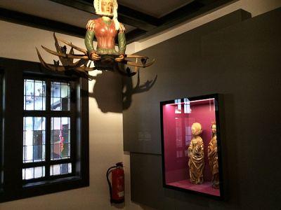 Die Lampe aus dem Lutherkeller, <br>einer früheren Wirtschaft im Lutherhaus