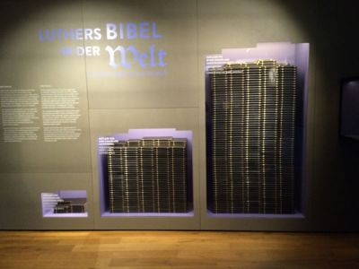 Die Verbreitung der Bibel stieg sprunghaft an