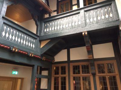 Bilder vom Lutherhaus-Innenhof